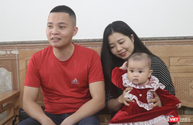 4 năm tìm con, đôi vợ chồng trẻ vỡ oà trong hạnh phúc khi thiên thần nhỏ chào đời khoẻ mạnh ảnh 1