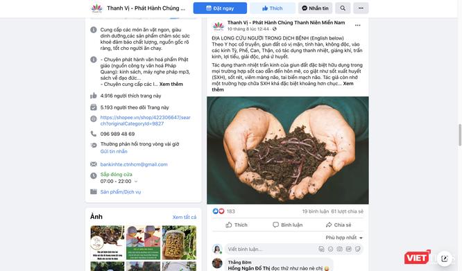 Địa long (giun đất) không có tác dụng chữa COVID-19 như quảng cáo của Angela Phương Trinh ảnh 4