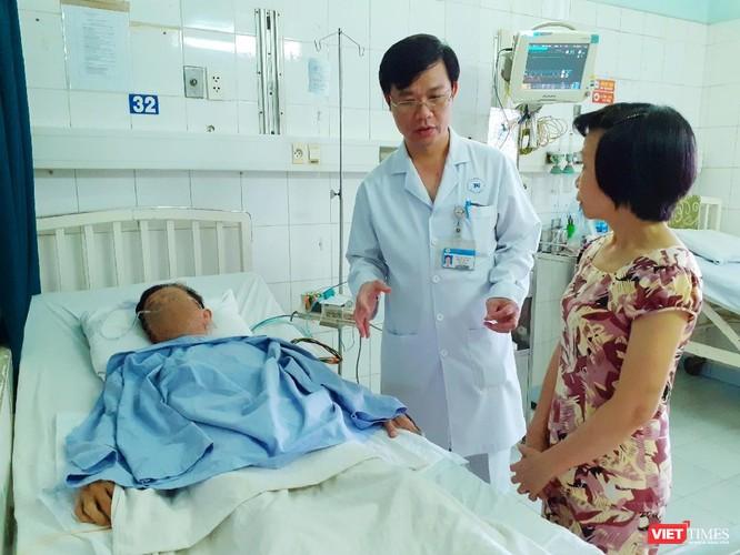 Sau ba ngày nhập, bệnh nhân dần hồi phục sức khỏe