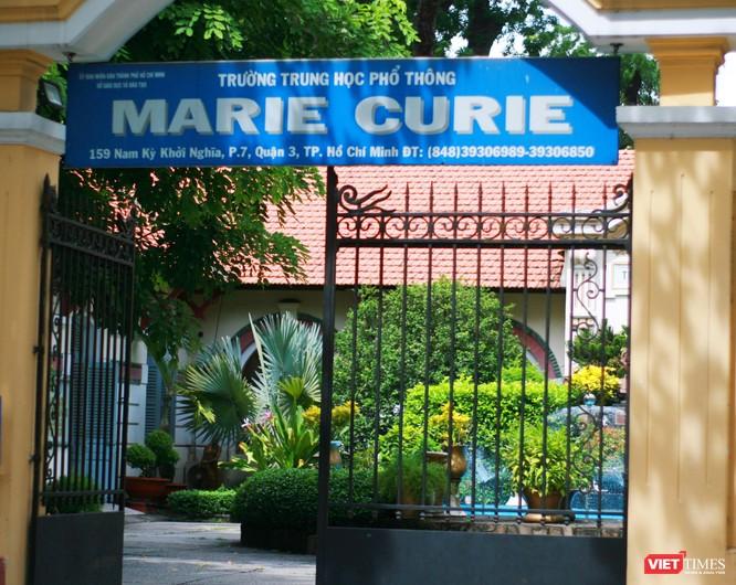 Trường THPT Marie Curie là hội đồng chấm môn thi Ngoại ngữ trong đợt tuyển sinh vào lớp 10