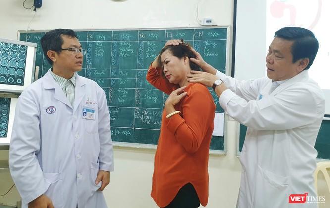 Tưởng rối loạn tiền đình, người phụ nữ suýt chết vì phình mạch máu não ảnh 2