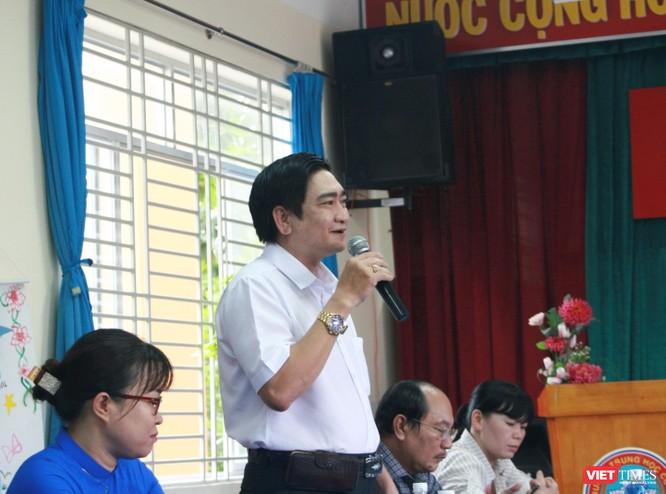 Ông Nguyễn Bá Cường - Hiệu trưởng Trường THCS Hoàng Diệu