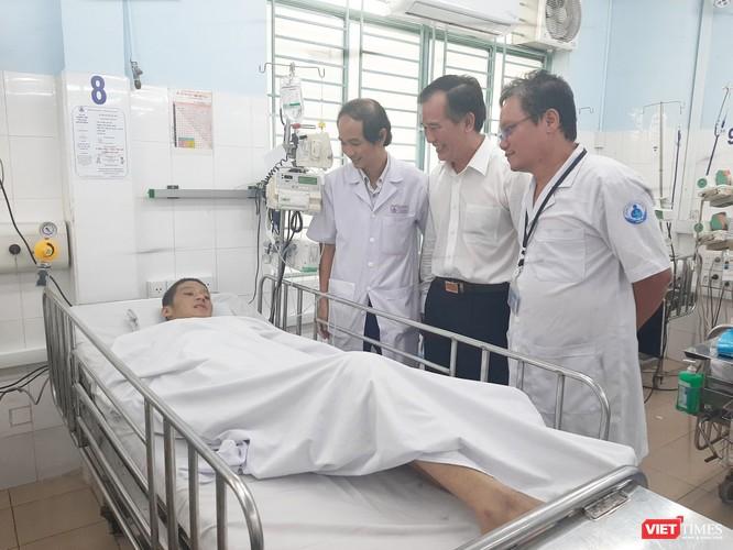 Bệnh viện Nhi Đồng 1 cứu sống bệnh nhân bị sốt xuất huyết Dengue nặng, suy đa cơ quan ảnh 1