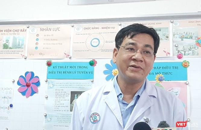 BV Chợ Rẫy sử dụng kỹ thuật cao phát hiện khối ung thư vú chỉ 3mm ảnh 1