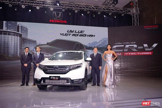 Honda Việt Nam ra mắt xe CR-V 2018, giá cao nhất 1,1 tỷ đồng ảnh 1