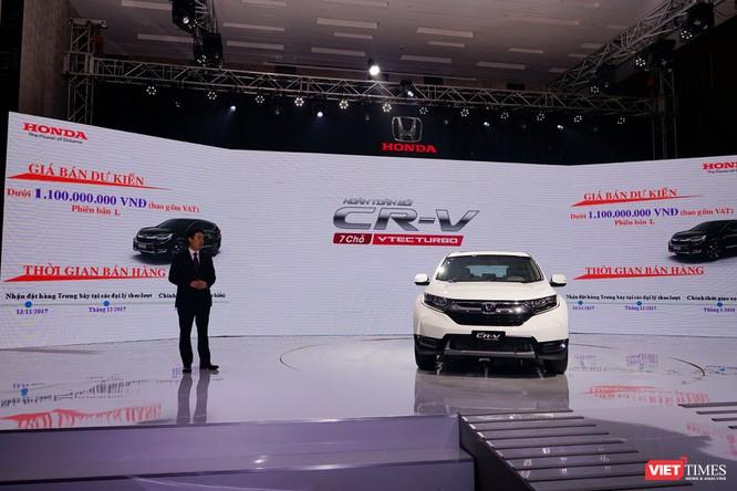Honda Việt Nam ra mắt xe CR-V 2018, giá cao nhất 1,1 tỷ đồng ảnh 2