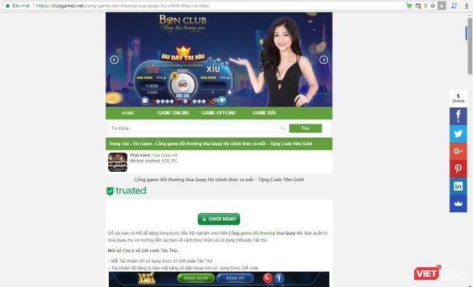 """Game bài và """"phần nổi tảng băng"""" đánh bạc trực tuyến ở Việt Nam ảnh 2"""