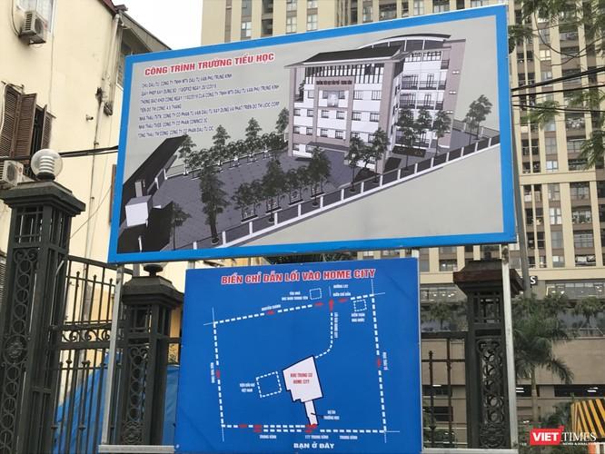 Dự án Trường Tiểu học và Biểu đồ đường đi vào Home city