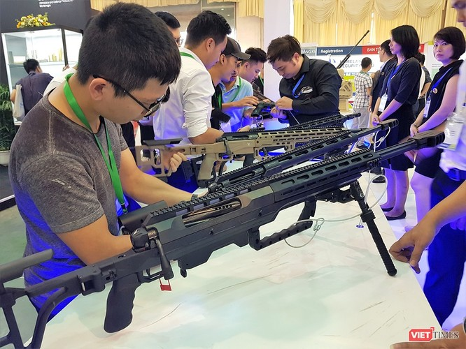 Chiêm ngưỡng dàn vũ khí tại Triển lãm Quốc tế về Quốc phòng - An ninh 2018 ảnh 19