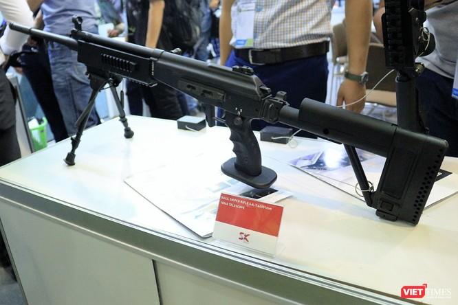 Chiêm ngưỡng dàn vũ khí tại Triển lãm Quốc tế về Quốc phòng - An ninh 2018 ảnh 9
