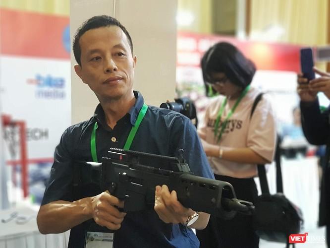 Chiêm ngưỡng dàn vũ khí tại Triển lãm Quốc tế về Quốc phòng - An ninh 2018 ảnh 18
