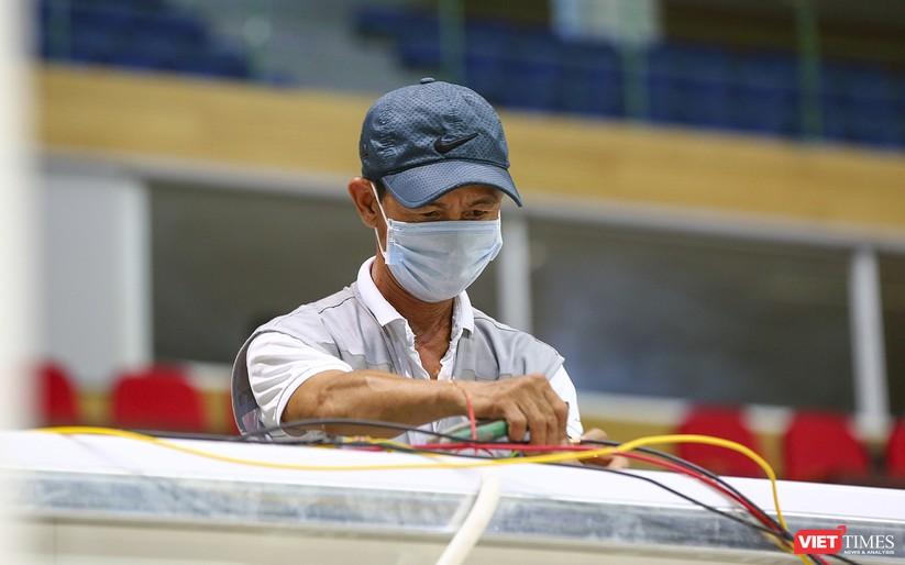 Những hình ảnh mới nhất từ bệnh viện dã chiến 1.000 giường bệnh ở Đà Nẵng ảnh 14