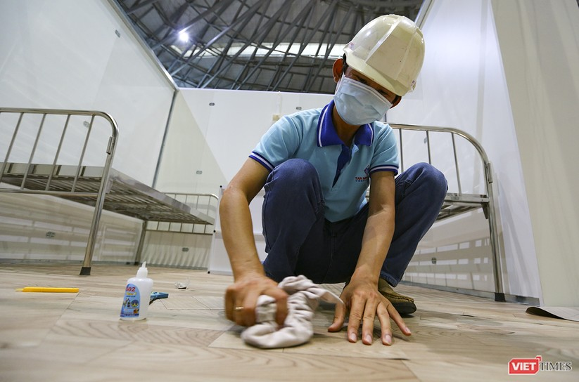 Những hình ảnh mới nhất từ bệnh viện dã chiến 1.000 giường bệnh ở Đà Nẵng ảnh 30