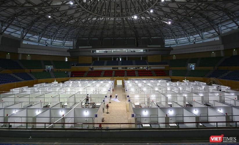 Bàn giao Bệnh viện dã chiến Cung thể thao Tiên Sơn cho ngành y tế ảnh 2