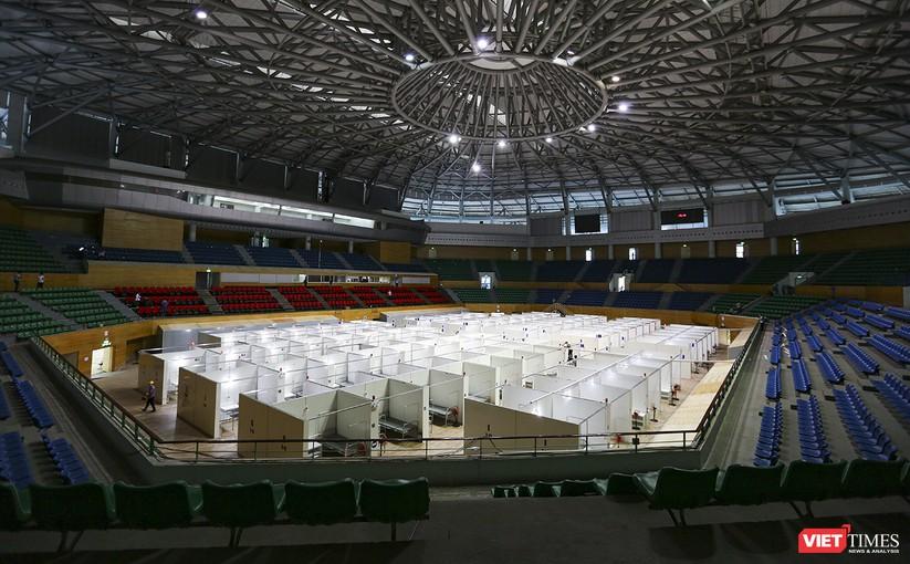 Bàn giao Bệnh viện dã chiến Cung thể thao Tiên Sơn cho ngành y tế ảnh 1