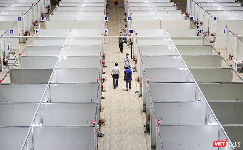 Bàn giao Bệnh viện dã chiến Cung thể thao Tiên Sơn cho ngành y tế ảnh 9
