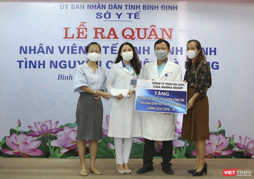 Ảnh: Đoàn cán bộ Y tế tỉnh Bình Định lên đường chi viện cho Đà Nẵng chống dịch COVID-19 ảnh 3