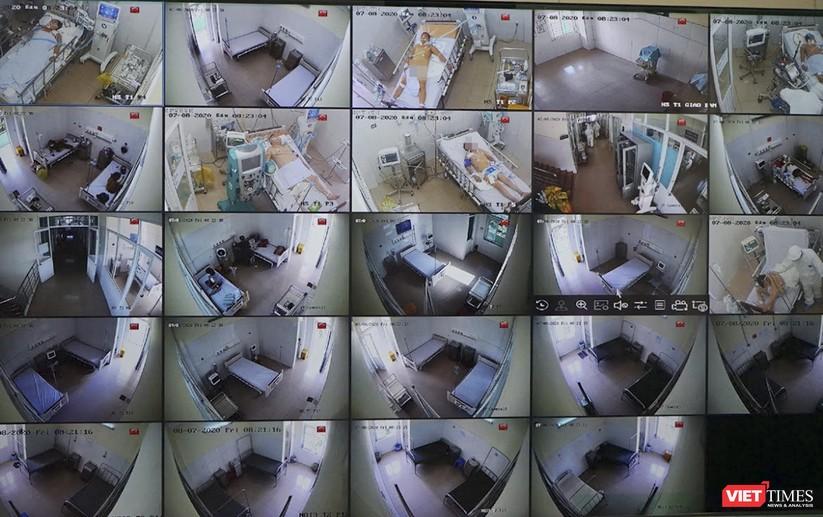 """Ảnh: Bên trong tâm """"bão COVID-19"""" ở Bệnh viện Phổi Đà Nẵng ảnh 3"""