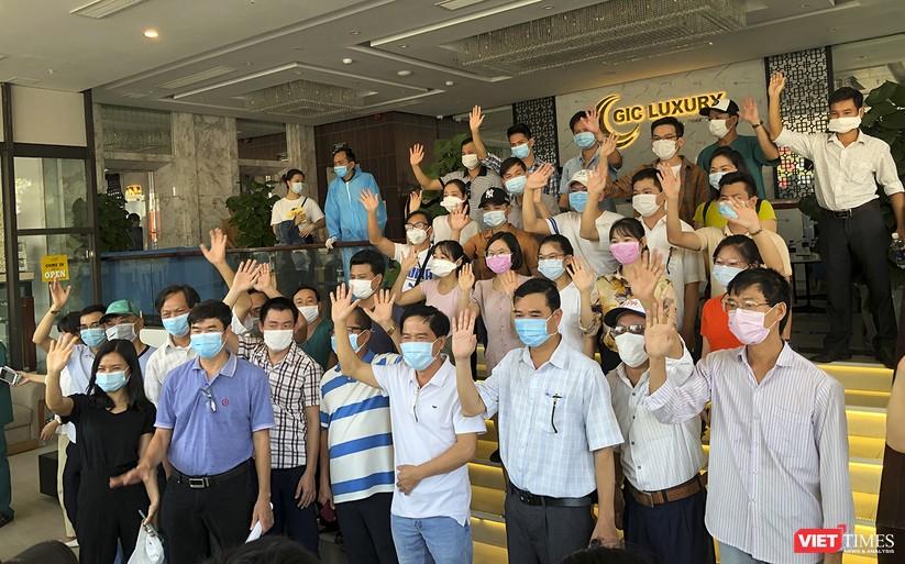 Ảnh: Đoàn bác sỹ tình nguyện Thừa Thiên Huế, Bình Định chia tay Đà Nẵng ảnh 6