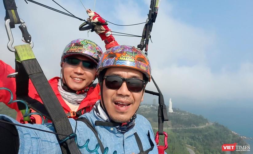 Ảnh: Một ngày lên đỉnh Sơn Trà cùng những cánh dù lượn ảnh 10