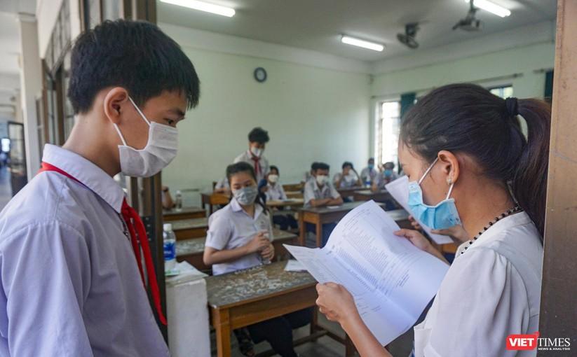 Ảnh: Hơn 13.000 thí sinh ở Đà Nẵng bước vào kỳ thi lớp 10 năm 2021 ảnh 4