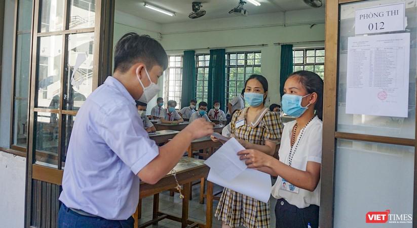 Ảnh: Hơn 13.000 thí sinh ở Đà Nẵng bước vào kỳ thi lớp 10 năm 2021 ảnh 5