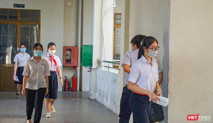 Ảnh: Hơn 13.000 thí sinh ở Đà Nẵng bước vào kỳ thi lớp 10 năm 2021 ảnh 2