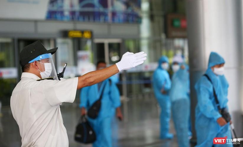 Ảnh: Đà Nẵng đón người dân từ TP HCM về nhà ảnh 18
