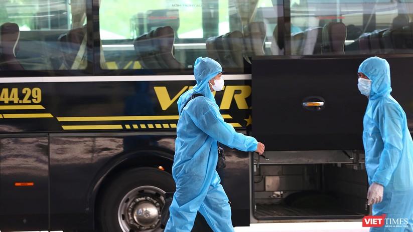 Ảnh: Đà Nẵng đón người dân từ TP HCM về nhà ảnh 19