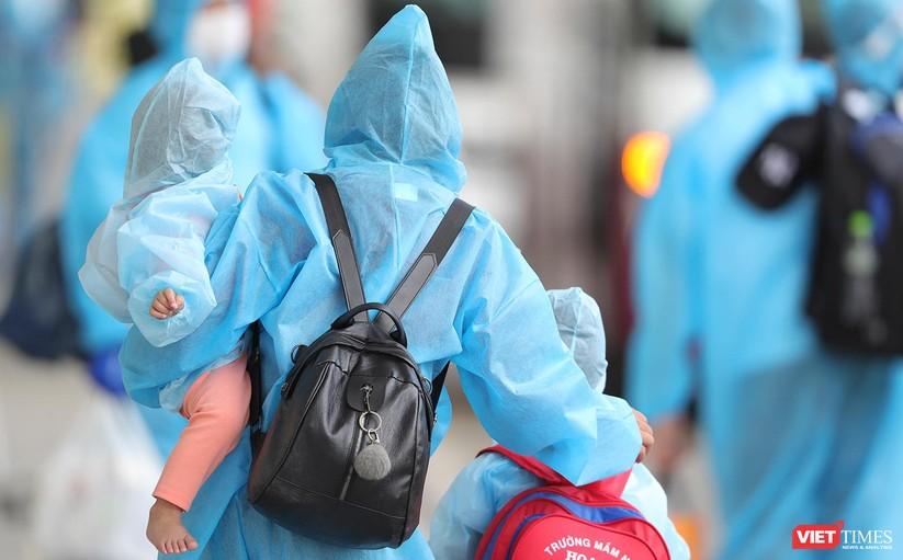 Ảnh: Đà Nẵng đón người dân từ TP HCM về nhà ảnh 26