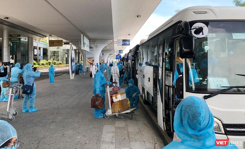 Ảnh: Đà Nẵng đón người dân từ TP HCM về nhà ảnh 23