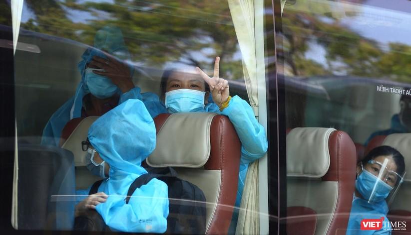 Ảnh: Đà Nẵng đón người dân từ TP HCM về nhà ảnh 38