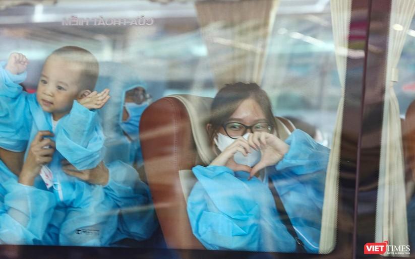 Ảnh: Đà Nẵng đón người dân từ TP HCM về nhà ảnh 39