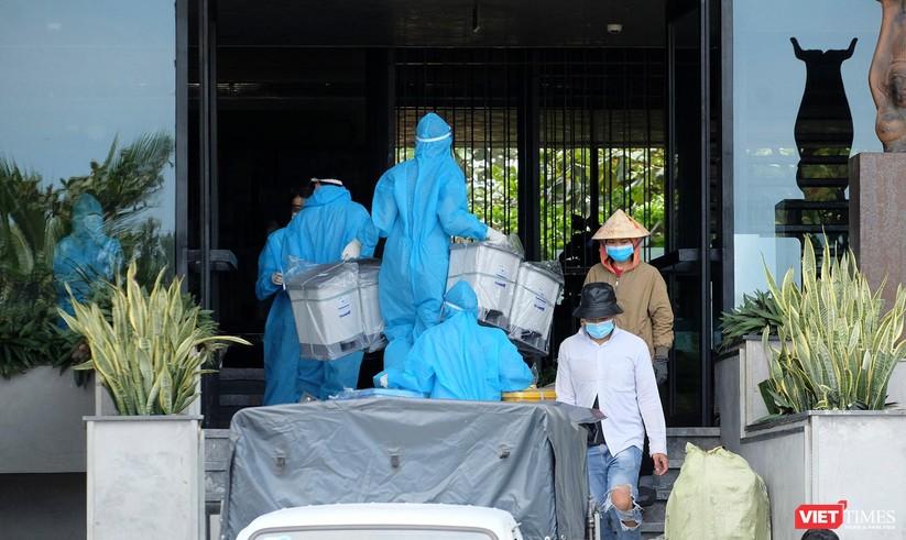 Ảnh: Đà Nẵng đón người dân từ TP HCM về nhà ảnh 42