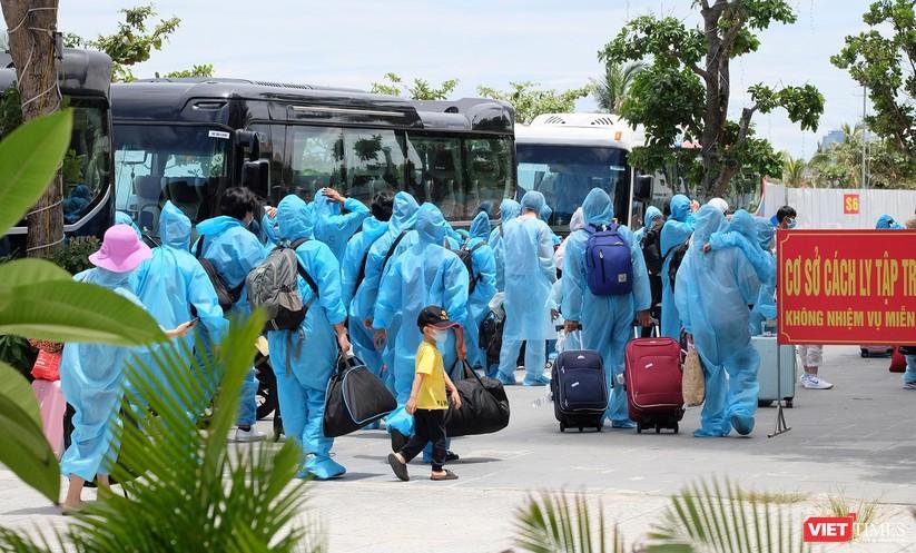 Ảnh: Đà Nẵng đón người dân từ TP HCM về nhà ảnh 44