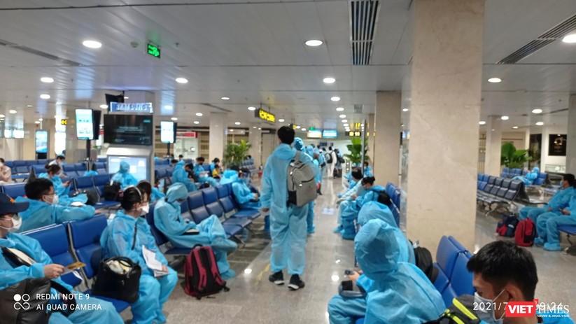 Ảnh: Đà Nẵng đón người dân từ TP HCM về nhà ảnh 7