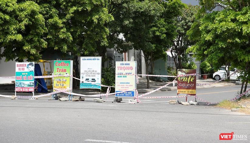 Ảnh: Cận cảnh chốt kiểm soát 5 phường trên địa bàn quận Sơn Trà (Đà Nẵng) ảnh 25