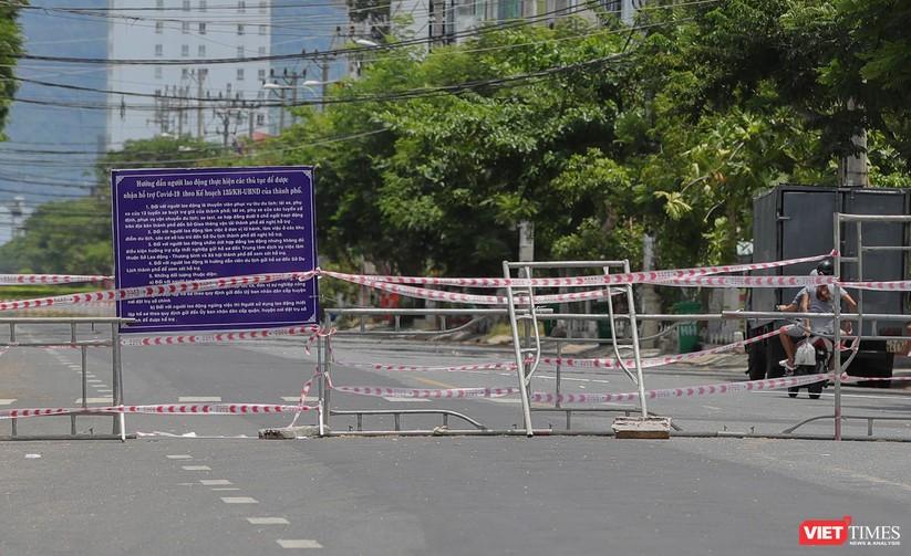 Ảnh: Cận cảnh chốt kiểm soát 5 phường trên địa bàn quận Sơn Trà (Đà Nẵng) ảnh 11