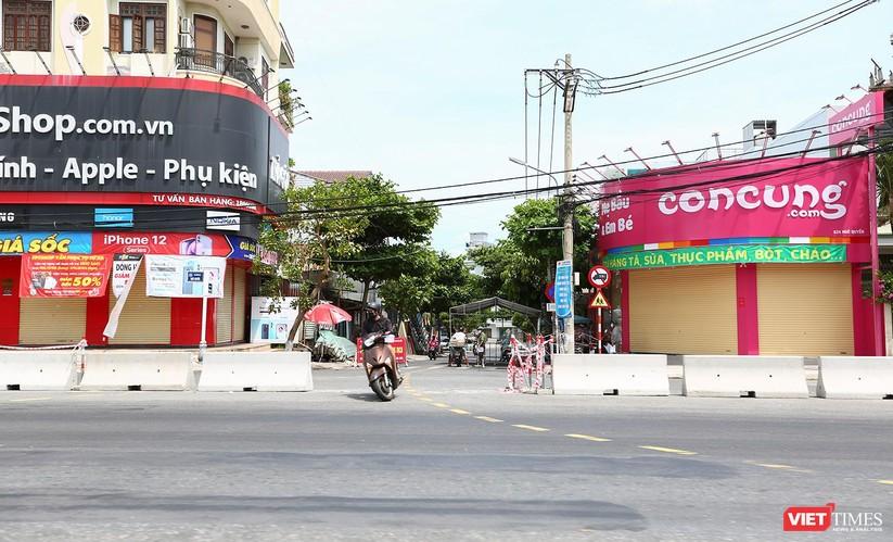 Ảnh: Cận cảnh chốt kiểm soát 5 phường trên địa bàn quận Sơn Trà (Đà Nẵng) ảnh 23
