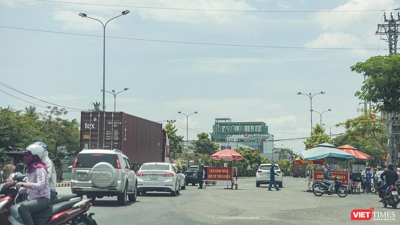 Ảnh: Cận cảnh chốt kiểm soát 5 phường trên địa bàn quận Sơn Trà (Đà Nẵng) ảnh 33