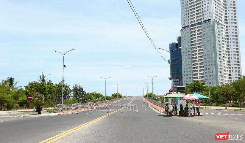 Ảnh: Cận cảnh chốt kiểm soát 5 phường trên địa bàn quận Sơn Trà (Đà Nẵng) ảnh 29