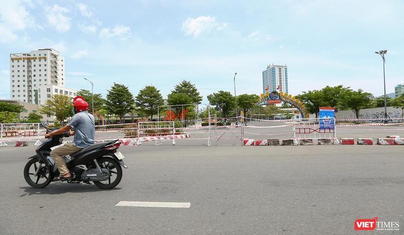 Ảnh: Cận cảnh chốt kiểm soát 5 phường trên địa bàn quận Sơn Trà (Đà Nẵng) ảnh 3