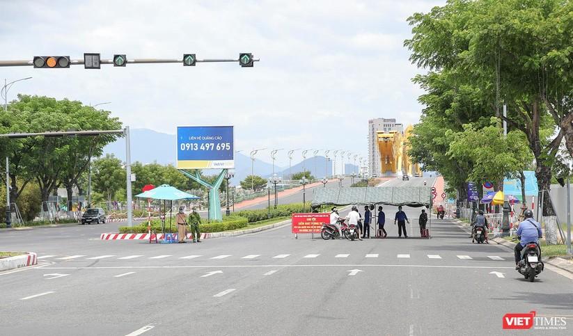 Ảnh: Cận cảnh chốt kiểm soát 5 phường trên địa bàn quận Sơn Trà (Đà Nẵng) ảnh 1