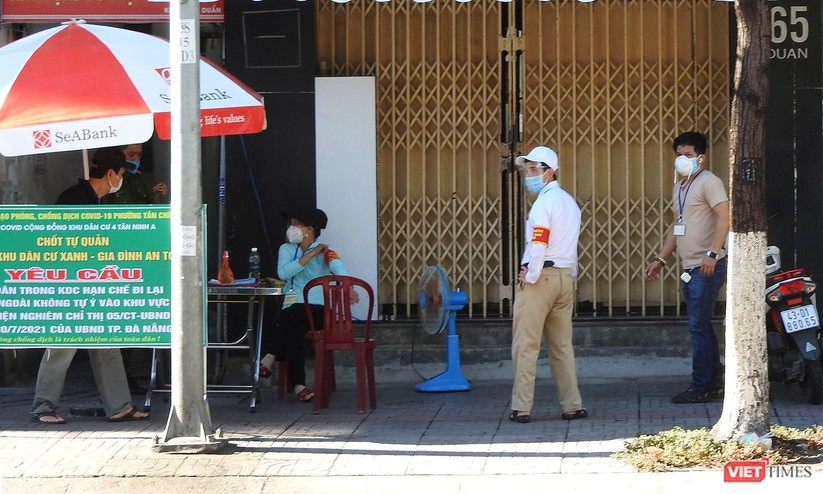 Ảnh: Đà Nẵng ngày đầu phong toả tuyệt đối toàn TP ra sao? ảnh 25