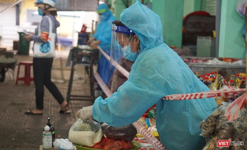 Đà Nẵng chính thức cho chợ truyền thống mở cửa trở lại phục vụ người dân ảnh 6