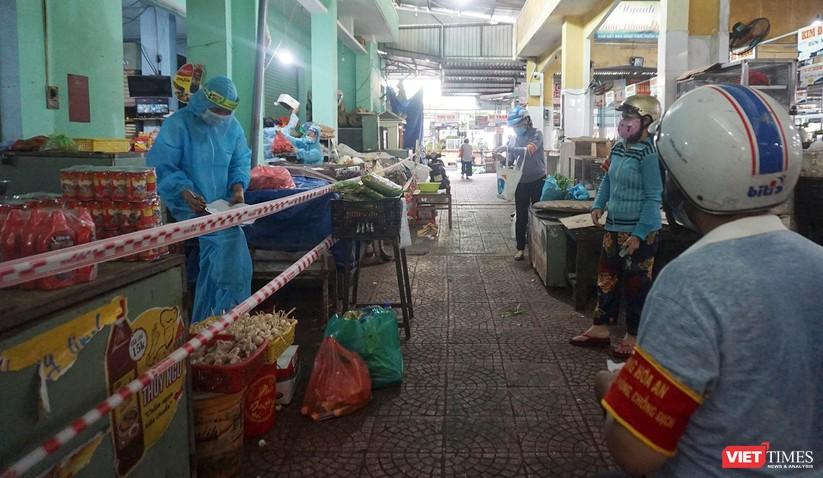 Đà Nẵng chính thức cho chợ truyền thống mở cửa trở lại phục vụ người dân ảnh 2