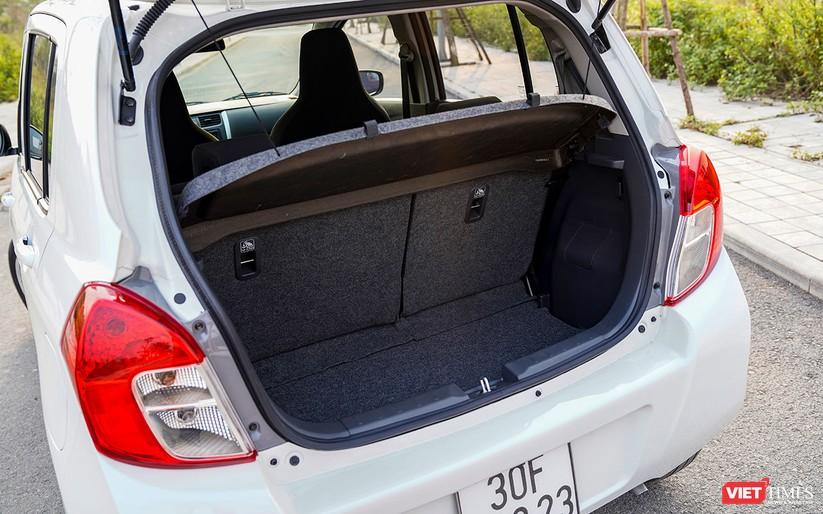 Suzuki Celerio 1.0 CVT: Nhỏ mà vẫn rộng, lái thì khó chê ảnh 10