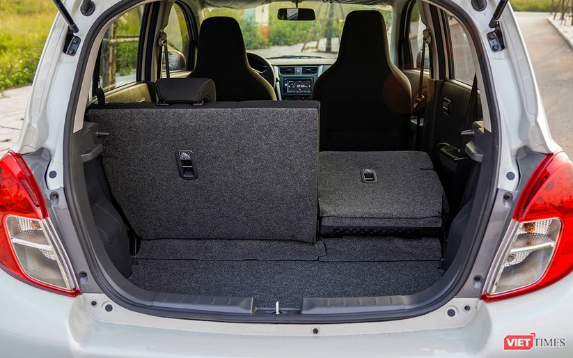 Suzuki Celerio 1.0 CVT: Nhỏ mà vẫn rộng, lái thì khó chê ảnh 11