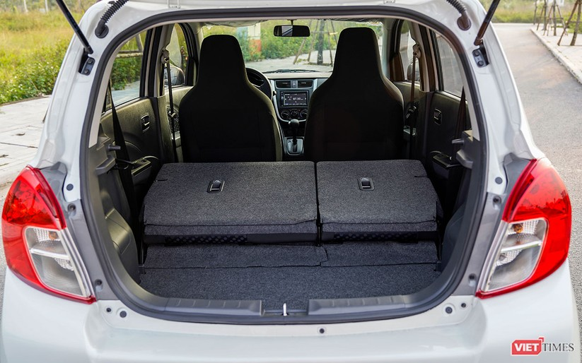 Suzuki Celerio 1.0 CVT: Nhỏ mà vẫn rộng, lái thì khó chê ảnh 12
