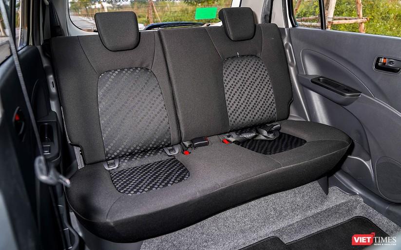 Suzuki Celerio 1.0 CVT: Nhỏ mà vẫn rộng, lái thì khó chê ảnh 13